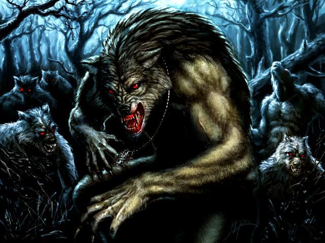 Vampiros, cambiantes y hombres lobo