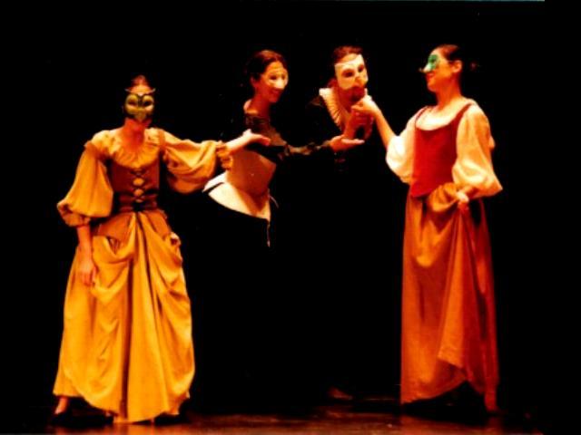 Comedia del Arte(Teatro Italiano)