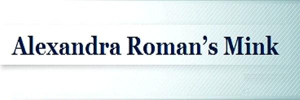 Alexandra Roman's mink