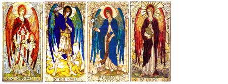 ángeles Y Arcángeles 1 Los Cuatro Arcangeles Ares Cronida