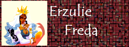 Erzulie Freda (arte de Zimra Art)