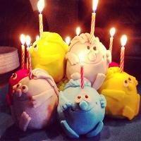 Feliz cumpleaños Seis años