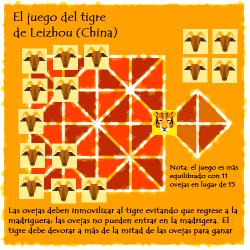 El juego del tigre de Leizhou